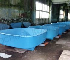 Ванны для разведения рыбы